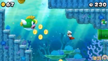 超级玛丽海底历险记, 马里奥要钱不要命大鱼嘴边的金币也不放过