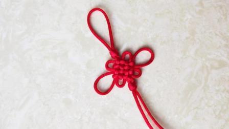 一根红绳, 自己动手做个中国结, 挂在车上真漂亮