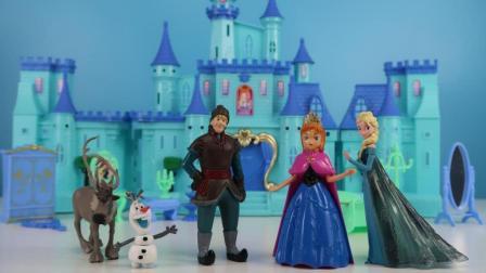 第一集 冰雪奇缘梦幻城堡 艾莎与安娜的灯光舞会