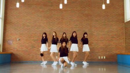 韩国活力美女 U.N.I.Q 舞蹈模仿 GFriend《今天开始我