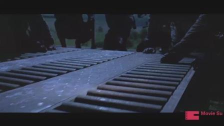 电影片段: 押送核武器的列车被恐怖份子劫持, 丧心病狂的引爆核弹