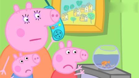 小猪佩奇家的金鱼不肯吃东西 一定是生病了