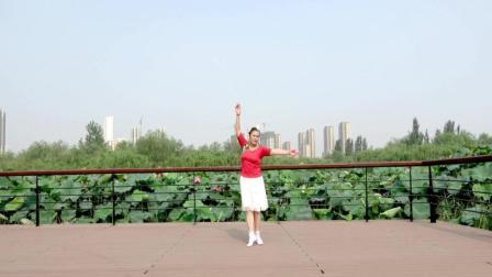 美美老师古典形体舞《风含情, 水含笑》分解教学