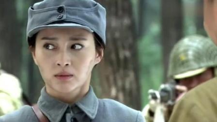 漂亮女兵被日军包围, 没想她却说出这种话!