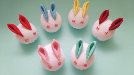 【第22集】【和风兔子】袜子娃娃DIY晓小惜
