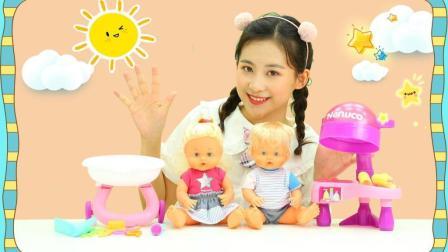 宝宝美发屋玩具, 专属于小宝宝的理发屋你见过吗