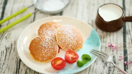 宝宝辅食: 抖音爆红的舒芙蕾松饼, 在家就能做!