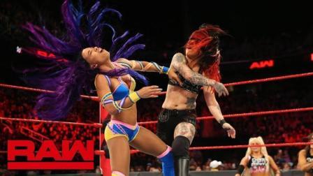 【RAW 08/13】队长茹比莱尔特回归 暴动小队攻击力大增 击败莎夏和贝莉