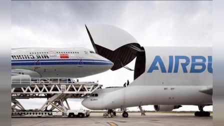 世界上最大的飞机, 载重达250吨, 能轻轻松背走航天飞机!
