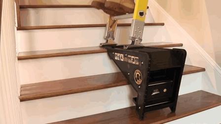 """老外给梯子研发""""脚奴"""", 势必要把梯子架在任何地方"""