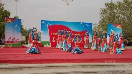 松原油田舞蹈大赛蒙古银碗舞-舞动东北原创舞蹈视频正式篇521