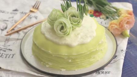 斑斓千层蛋糕, 女朋友过生日的时候亲手给她做一个吧