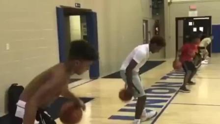 看NBA篮球天才怎么产生的? 詹姆斯儿子布朗尼从小刻苦训练