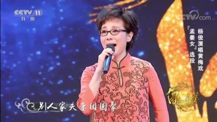 黄梅戏《孟姜女》选段, 演唱: 黄梅名家、一级演员杨俊