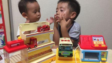 【happy face】【children】玩了一个汉堡包 面包超人的朋友