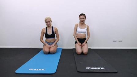 4分钟腹部训练TABATA