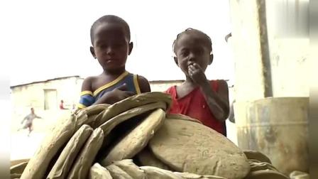 非洲人最爱吃的土, 烂泥巴直接晒干当零嘴, 又香又脆营养丰富!