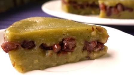 红豆糯米糕好吃的做法, 不用烤箱就能做, 馋哭隔壁小孩