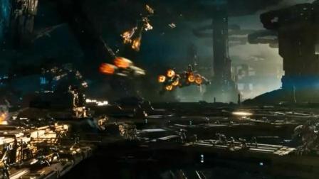 投资1.95亿美金打造的超级科幻战争巨制, 这场面打的也太猛了