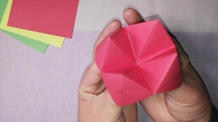 东南西北 东南西北折纸 东南西北折法 折纸教程 手工课