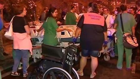 上百人撤离! 西班牙一医院遭纵火
