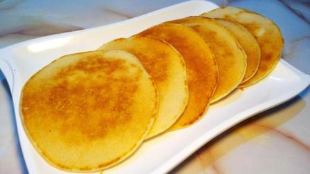 教你在家做香蕉饼, 做法简单, 不用一滴油, 不用一滴水, 营养又美味