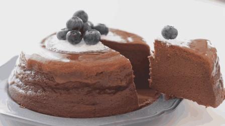 自制巧克力蛋奶酥芝士蛋糕, 入口即化的巧克力甜点