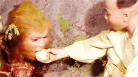 孙悟空被压山下后只有一名凡人去看过他?
