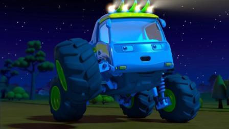 宝宝巴士疯狂怪兽车 第12集 爱探险的怪兽车 英文版