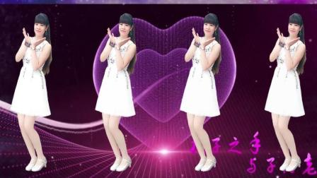 水蜜桃广场舞《许你一世情缘》柔情32步