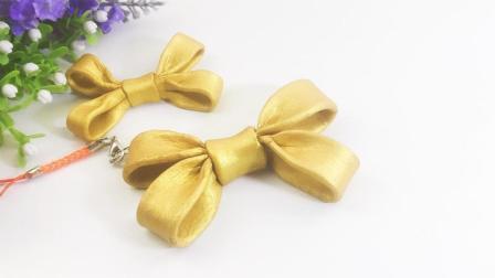 手作黄金蝴蝶结, 七夕节, 用她来代替黄金玫瑰怎么样?