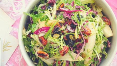 我的日常料理 第一季 2分钟教你做一道减肥低脂的夏季轻食坚果蔬菜水果沙拉