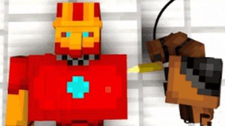 大海解说 我的世界建造我的王国ep32 改造钢铁小侠