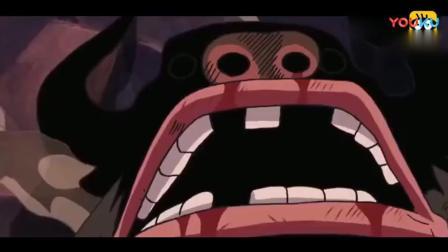 【海贼王】又一个恶魔果实组合技, 路飞凭一招秒杀强大对手!