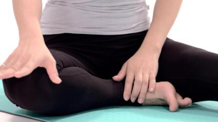 初学者必看, 单腿背部伸展教程, 练了对下半身有好处