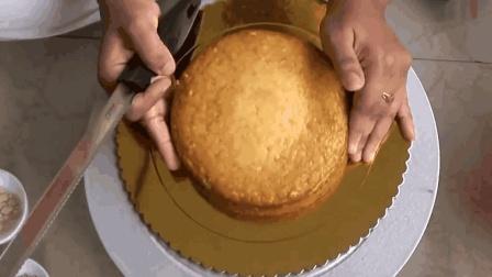 印度人制作蛋糕, 跟国内的没啥区别, 你看着有食欲吗