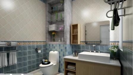 拿不定主意呀, 这些卫生间设计图, 每个都想要啊!