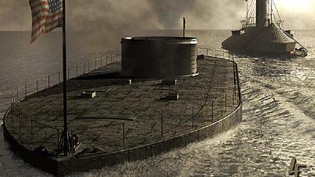 人类彻底摈弃风帆木头战舰, 走向钢铁蒸汽时代, 解密美军铁甲舰