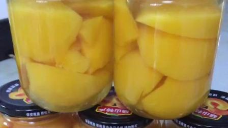 教你自制黄桃罐头, 方法简单, 可放2年