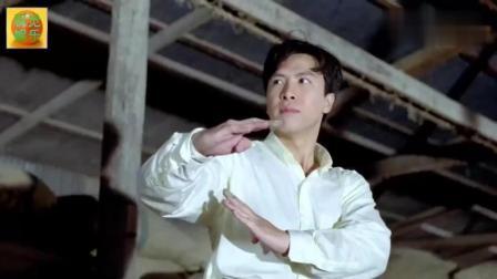 甄子丹动作电影《怒火威龙》, 双短棍简直不要太厉害