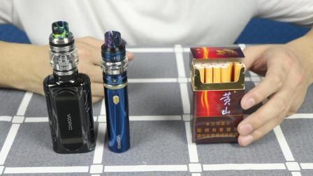 开箱测评两款电子烟, 揭秘电子烟和香烟对人体健康危害的区别?