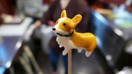 【日本街头美食】97 糖果雕刻艺术
