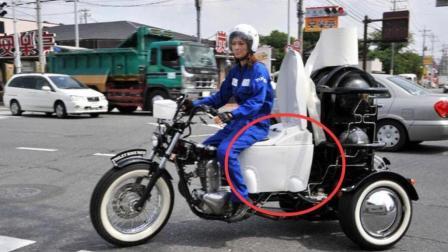 日本的马桶摩托车, 粑粑做动力能源, 网友: 辣眼睛!