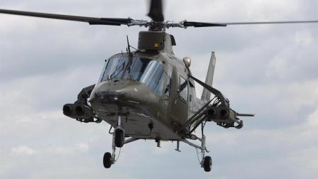 """它是直升机里的绿巨人? H-3""""愉快的绿巨人""""在军演中显露国本领。"""