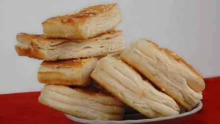 面点大师做千层饼, 烤箱做法, 层层酥香有妙招!