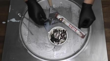 七夕情人节, 自制费列罗Giotto榛果巧克力冰淇淋, 吃过的来!