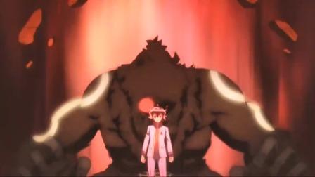 全队都在对战怪物,一不小心就得死,少年却在原地发呆