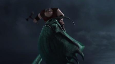 拿把斧头就敢抓龙,这胖子也是胆大,没被吃算好的了
