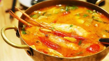 泰式酸辣汤, 冬阴功汤的家常做法, 酸辣开胃, 出锅整栋楼都香了!