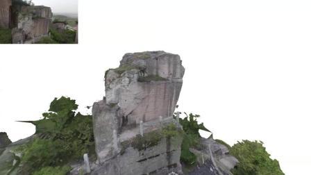 实景扫描三维模型和贴图